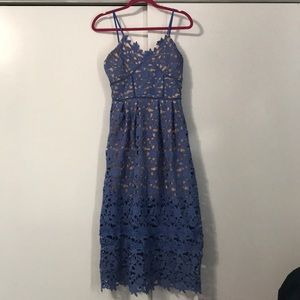 Nwt Goodnight Macaroon lace midi💕